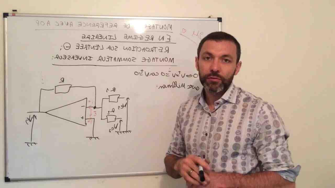 Comment savoir si un AOP fonctionne en régime linéaire ?