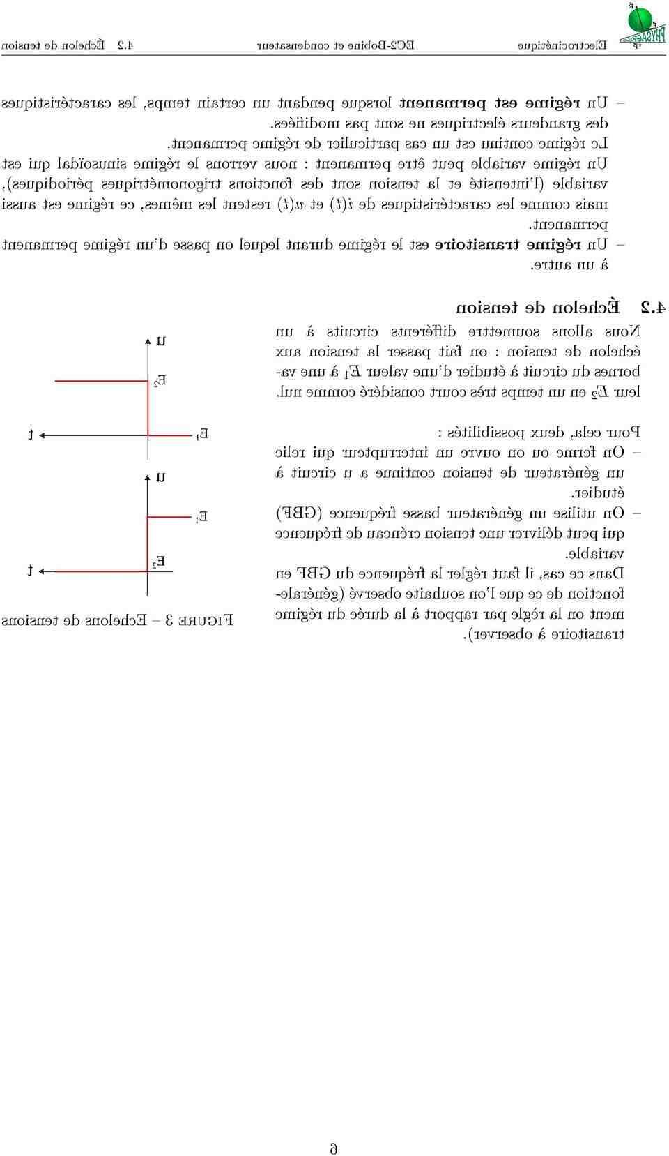 Comment se comporte la bobine en régime transitoire ?